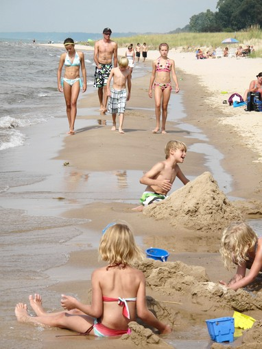 Sandy Beaches Of South Haven